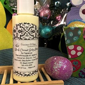 Black Coconut Body Lotion